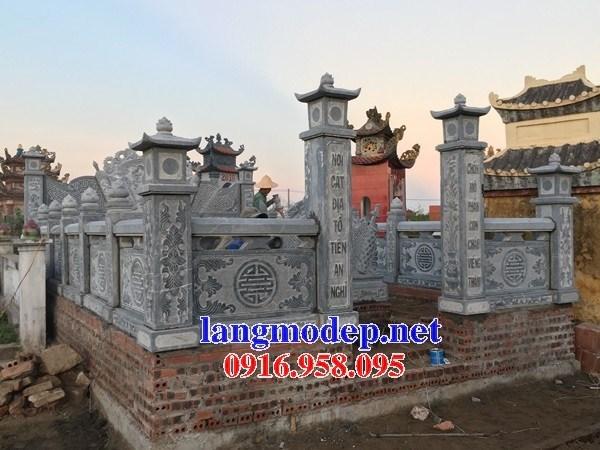 94 Mẫu cổng khu lăng mộ nghĩa trang gia đình dòng họ bằng đá thiết kế hiện đại đẹp bán tại Cao Bằng