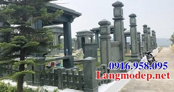 94 Mẫu khu lăng mộ đá xanh rêu đẹp bán tại Cao Bằng