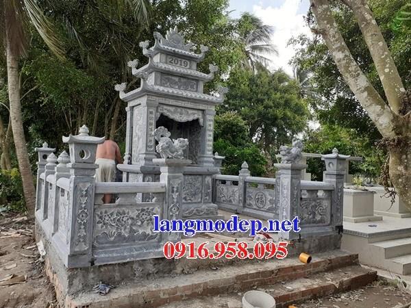 94 Mẫu khu lăng mộ nghĩa trang gia đình dòng họ bằng đá đẹp bán tại Cao Bằng