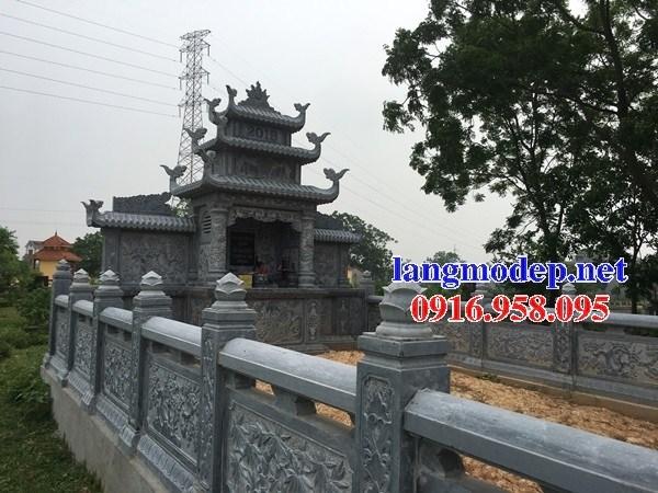 94 Mẫu khu lăng mộ nghĩa trang gia đình dòng họ bằng đá thiết kế đẹp bán tại Cao Bằng
