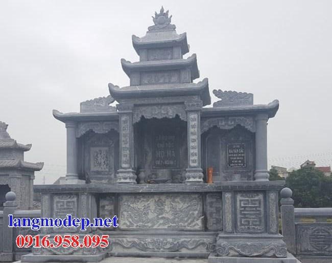 94 Mẫu lăng thờ chung khu lăng mộ gia đình dòng họ bằng đá đẹp bán tại Cao Bằng