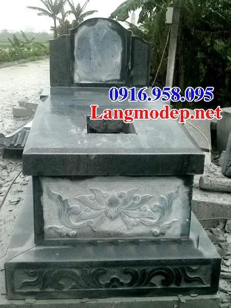 94 Mẫu mộ đá xanh rêu cất để tro cốt hỏa táng đẹp bán tại Cao Bằng