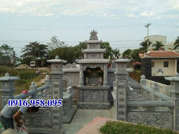 95 Mẫu cổng khu lăng mộ nghĩa trang gia đình dòng họ bằng đá thiết kế đơn giản đẹp bán tại Sóc Trăng