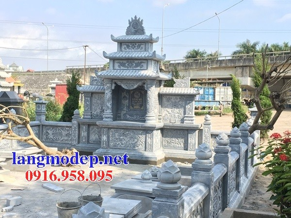 95 Mẫu củng kỳ đài thờ chung khu lăng mộ gia đình dòng họ bằng đá đẹp bán tại Sóc Trăng