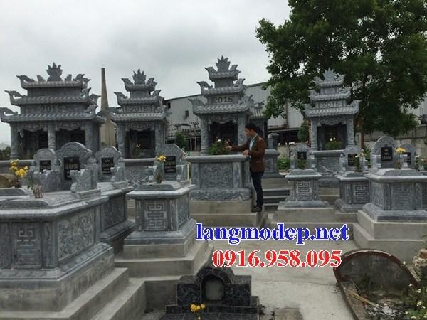 95 Mẫu củng kỳ đài thờ chung khu lăng mộ gia đình dòng họ bằng đá xanh Thanh Hóa đẹp bán tại Sóc Trăng