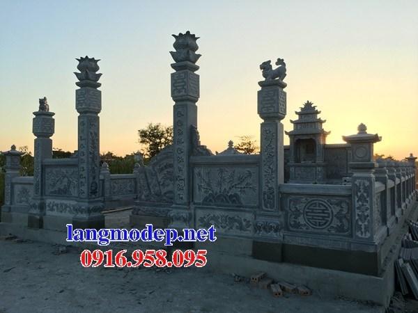 95 Mẫu khu lăng mộ nghĩa trang gia đình dòng họ bằng đá thiết kế đẹp bán tại Sóc Trăng