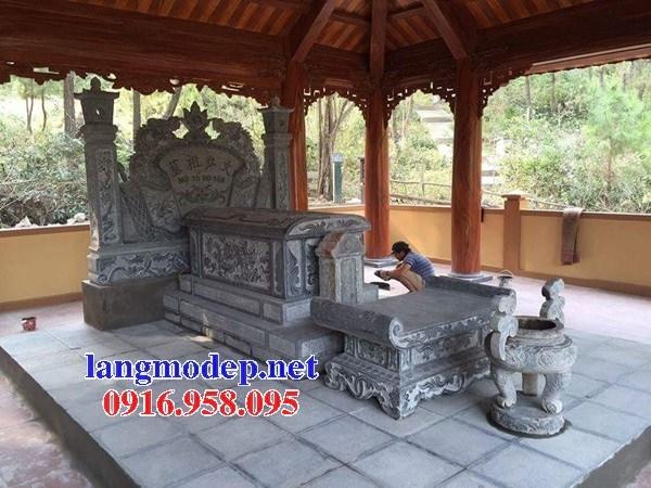 95 Mẫu lăng thờ chung khu lăng mộ gia đình dòng họ bằng đá thiết kế hiện đại đẹp bán tại Sóc Trăng