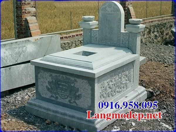 95 Mẫu mộ đá xanh rêu đẹp bán tại Sóc Trăng