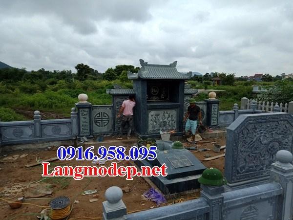 95 Mẫu mộ đá xanh rêu cao cấp đẹp bán tại Sóc Trăng
