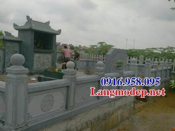 95 Mẫu mộ đá xanh rêu tự nhiên đẹp bán tại Sóc Trăng