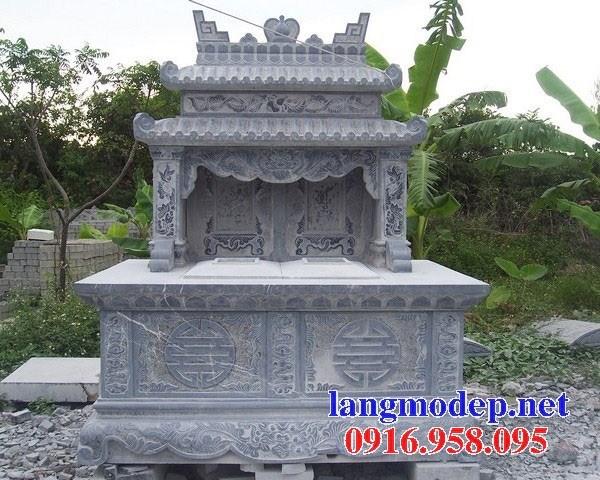 95 Mẫu mộ đôi gia đình bằng đá đẹp bán tại Sóc Trăng