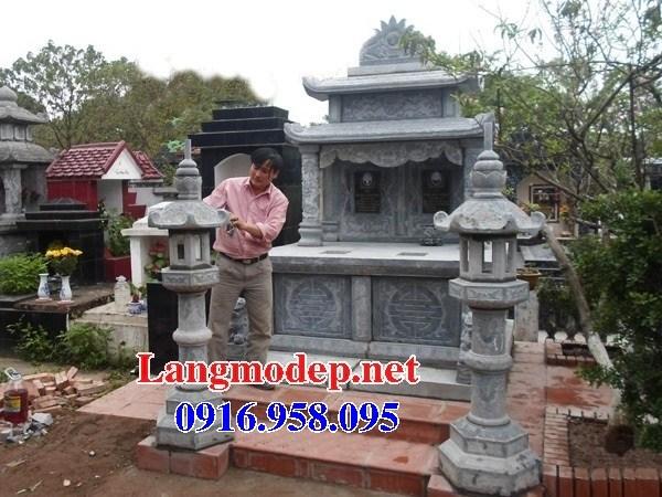 95 Mẫu mộ đôi gia đình bằng đá mỹ nghệ Ninh Bình đẹp bán tại Sóc Trăng