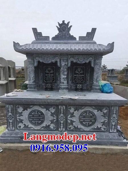 95 Mẫu mộ đôi gia đình bằng đá thiết kế hiện đại đẹp bán tại Sóc Trăng