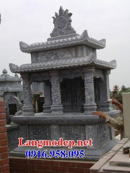 95 Mẫu mộ đôi gia đình cất để tro cốt hỏa táng bằng đá đẹp bán tại Sóc Trăng