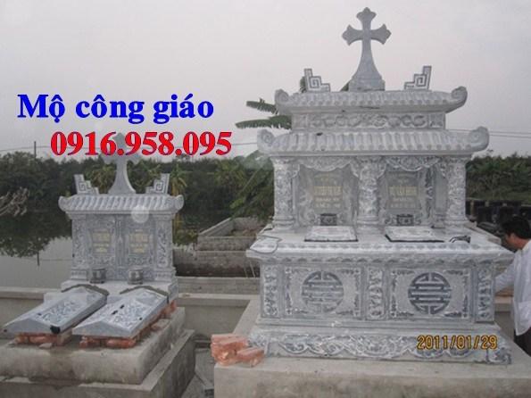 95 Mẫu mộ đạo thiên chúa công giáo bằng đá đẹp bán tại Sóc Trăng
