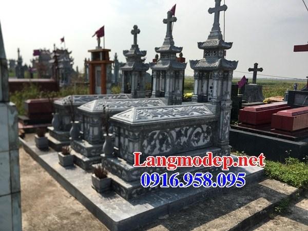 95 Mẫu mộ đạo thiên chúa công giáo bằng đá chạm khắc hoa văn đẹp bán tại Sóc Trăng