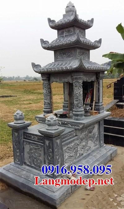 95 Mẫu mộ ba mái bằng đá đẹp bán tại Sóc Trăng