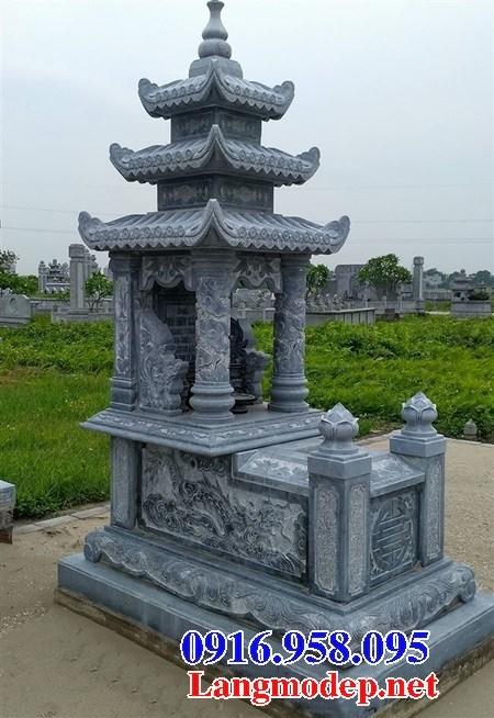 95 Mẫu mộ ba mái bằng đá thiết kế đẹp bán tại Sóc Trăng