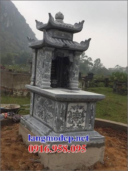 95 Mẫu mộ hai mái bằng đá thiết kế đẹp bán tại Sóc Trăng