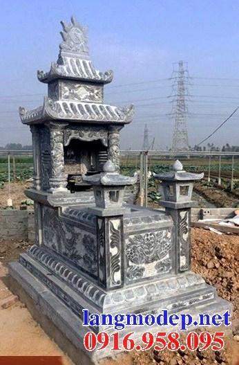 95 Mẫu mộ hai mái bằng đá thiết kế hiện đại đẹp bán tại Sóc Trăng