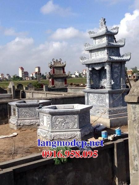 95 Mẫu mộ lục lăng bát giác bằng đá đẹp bán tại Sóc Trăng