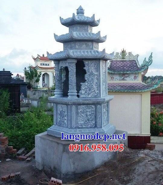 95 Mẫu mộ lục lăng bát giác bằng đá mỹ nghệ Ninh Bình đẹp bán tại Sóc Trăng