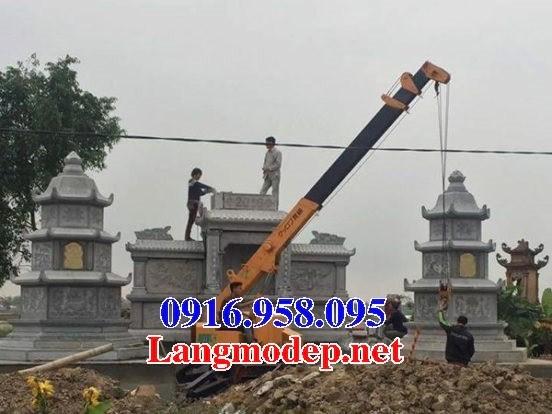 95 Mẫu mộ lục lăng bát giác bằng đá xanh Thanh Hóa đẹp bán tại Sóc Trăng