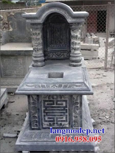 95 Mẫu mộ một mái bằng đá đẹp bán tại Sóc Trăng