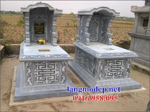 95 Mẫu mộ một mái bằng đá mỹ nghệ Ninh Bình đẹp bán tại Sóc Trăng