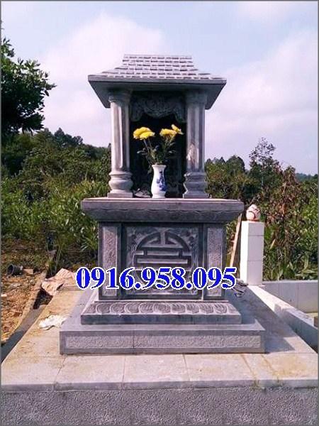 95 Mẫu mộ một mái bằng đá thiết kế đơn giản đẹp bán tại Sóc Trăng