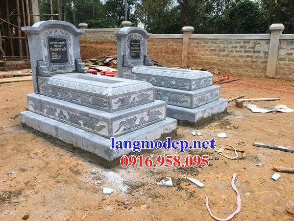 95 Mẫu mộ tam cấp bằng đá thiết kế đẹp bán tại Sóc Trăng