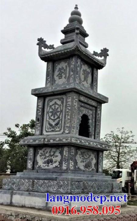 95 Mẫu mộ tháp bằng đá chạm khắc hoa văn đẹp bán tại Sóc Trăng