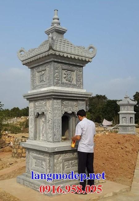 95 Mẫu mộ tháp bằng đá xanh Thanh Hóa đẹp bán tại Sóc Trăng
