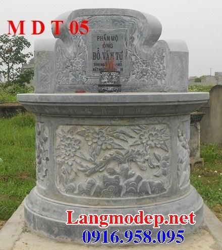 95 Mẫu mộ tròn bằng đá chạm khắc hoa văn đẹp bán tại Sóc Trăng