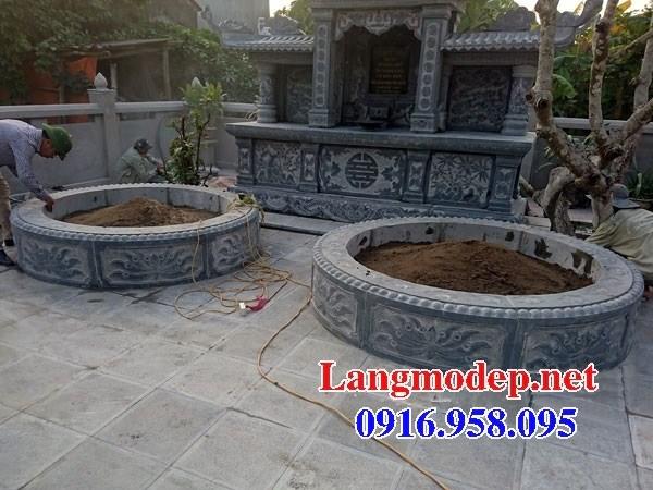 95 Mẫu mộ tròn bằng đá xanh Thanh Hóa đẹp bán tại Sóc Trăng