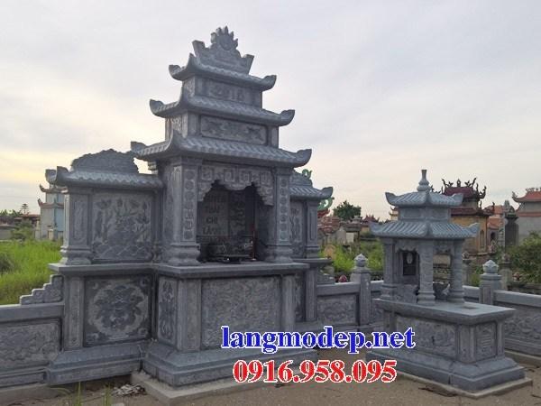82 Mẫu củng kỳ đài thờ chung khu lăng mộ gia đình dòng họ bằng đá đẹp bán tại Bắc Kạn