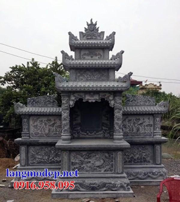 82 Mẫu củng kỳ đài thờ chung khu lăng mộ gia đình dòng họ bằng đá chạm khắc hoa văn đẹp bán tại Bắc Kạn