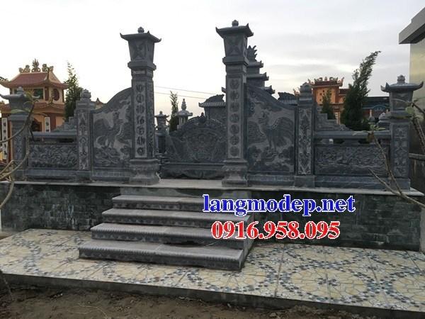 82 Mẫu khu lăng mộ nghĩa trang gia đình dòng họ bằng đá đẹp bán tại Bắc Kạn