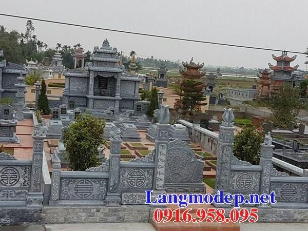 82 Mẫu lăng thờ chung khu lăng mộ gia đình dòng họ bằng đá thiết kế hiện đại đẹp bán tại Bắc Kạn