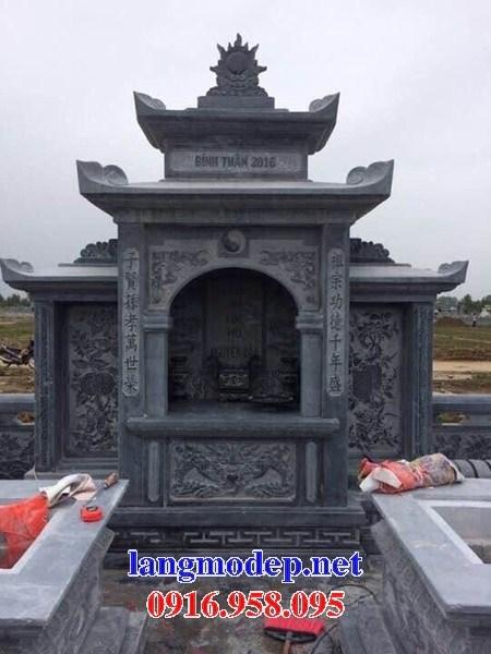 82 Mẫu lăng thờ chung khu lăng mộ gia đình dòng họ bằng đá xanh Thanh Hóa đẹp bán tại Bắc Kạn