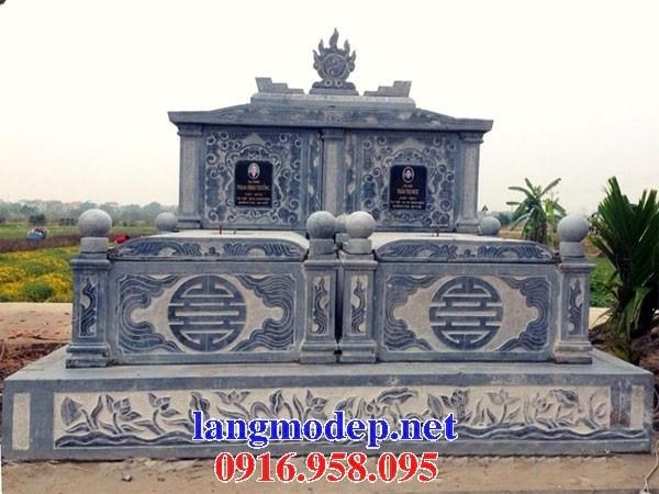 82 Mẫu mộ đôi gia đình bằng đá thiết kế hiện đại đẹp bán tại Bắc Kạn