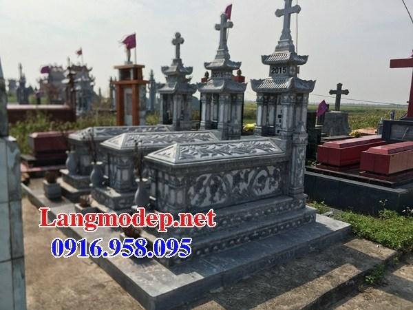 82 Mẫu mộ đạo thiên chúa công giáo bằng đá chạm khắc hoa văn đẹp bán tại Bắc Kạn