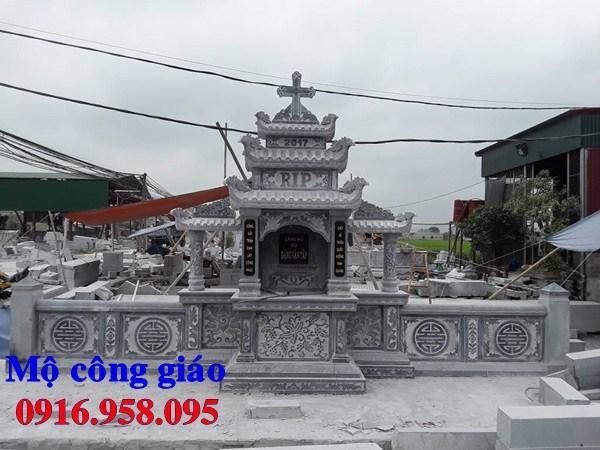 82 Mẫu mộ đạo thiên chúa công giáo bằng đá thiết kế đẹp bán tại Bắc Kạn