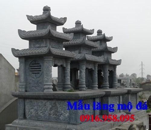 82 Mẫu mộ ba mái bằng đá chạm khắc hoa văn đẹp bán tại Bắc Kạn