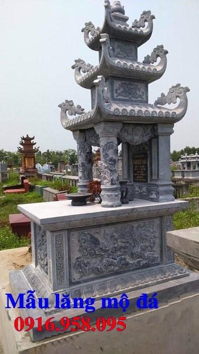 82 Mẫu mộ ba mái bằng đá thiết kế đẹp bán tại Bắc Kạn