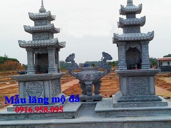 82 Mẫu mộ ba mái bằng đá thiết kế hiện đại đẹp bán tại Bắc Kạn