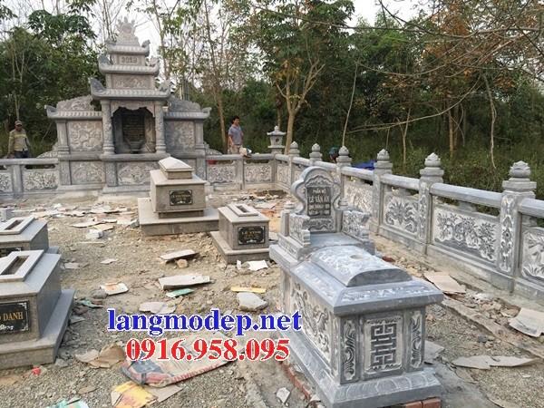 82 Mẫu mộ không mái bằng đá đẹp bán tại Bắc Kạn