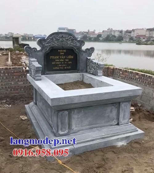82 Mẫu mộ không mái bằng đá thiết kế đơn giản đẹp bán tại Bắc Kạn