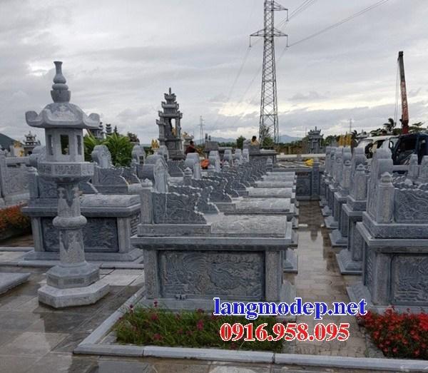 82 Mẫu mộ không mái bằng đá thiết kế đẹp bán tại Bắc Kạn