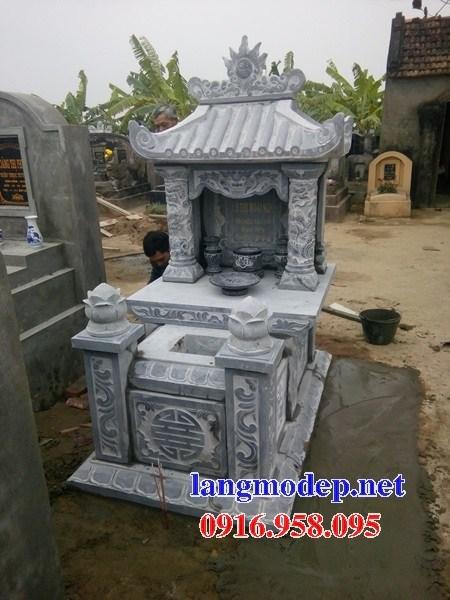 82 Mẫu mộ một mái bằng đá thiết kế đơn giản đẹp bán tại Bắc Kạn